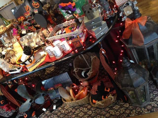 Some great Halloween decor and gift items we have at A Village Gift Shop!