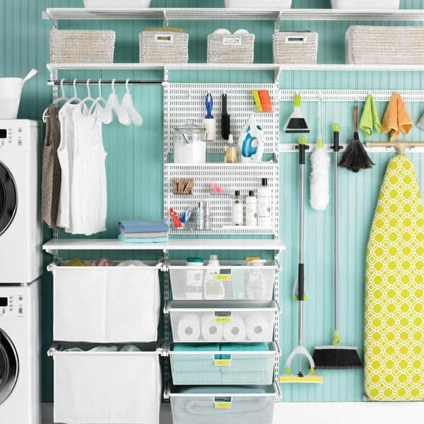 Consider adding modular closet system to step up your storage needs