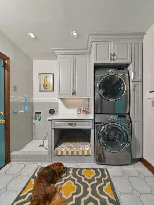 Consider your family needs can the laundry multi-function possibly adding a pet area, or family lockers for sports equipment.