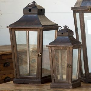 These beautiful Park Hill lanterns are available at A Village Gift Shop starting at $35.99.