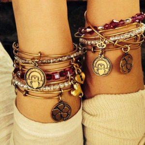 Alexi and Ani bracelets are a great way to show your friends how much you appreciate them.