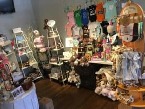 Our baby section is also a great stop when you've cleared out a little one's closet of the clothes that no longer fit!