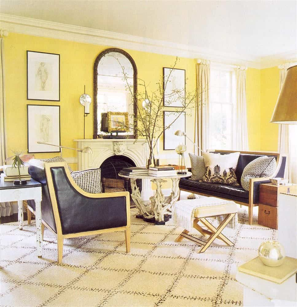 Before selecting the color for a space, think first about how you want it to feel (for example, yellow is bright, airy and happy). The mood you want to feel in the space cannot be ignored.