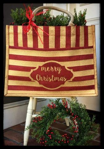These wonderful gift bags are available at A Village Gift Shop in historic Glendale.